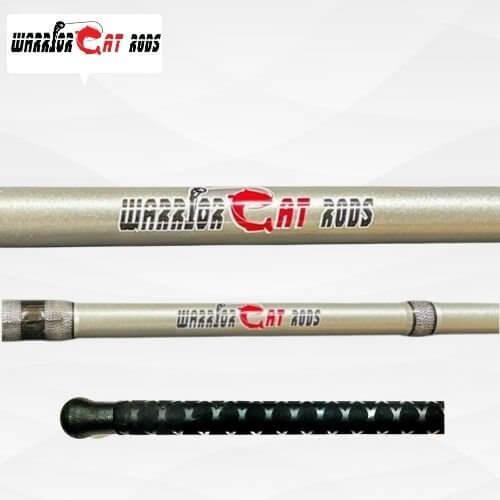 7'6″ Medium Heavy Casting X-Flock EVA   Warrior Cat Rods