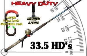 "heavy duty rod holder 33.5-hd heavy duty rod holder 33.5-hd ""Red Devil"" Heavy Duty Rod Holder 33.5-HD 33"