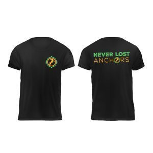 Never Lost T-Shirt | Never Lost Anchors never lost t-shirt | never lost anchors Never Lost T-Shirt | Never Lost Anchors Black t shirt Never Lost Anchor 300x300