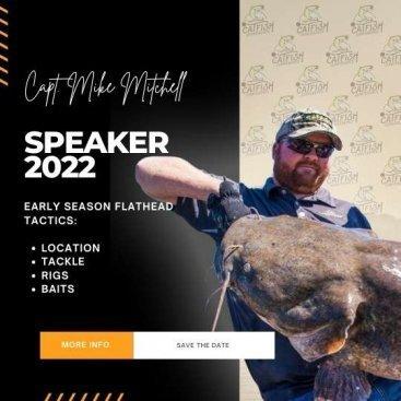 [object object] Montana Catfish Association Catcon 2022 Speaker Mike itchell 367x367