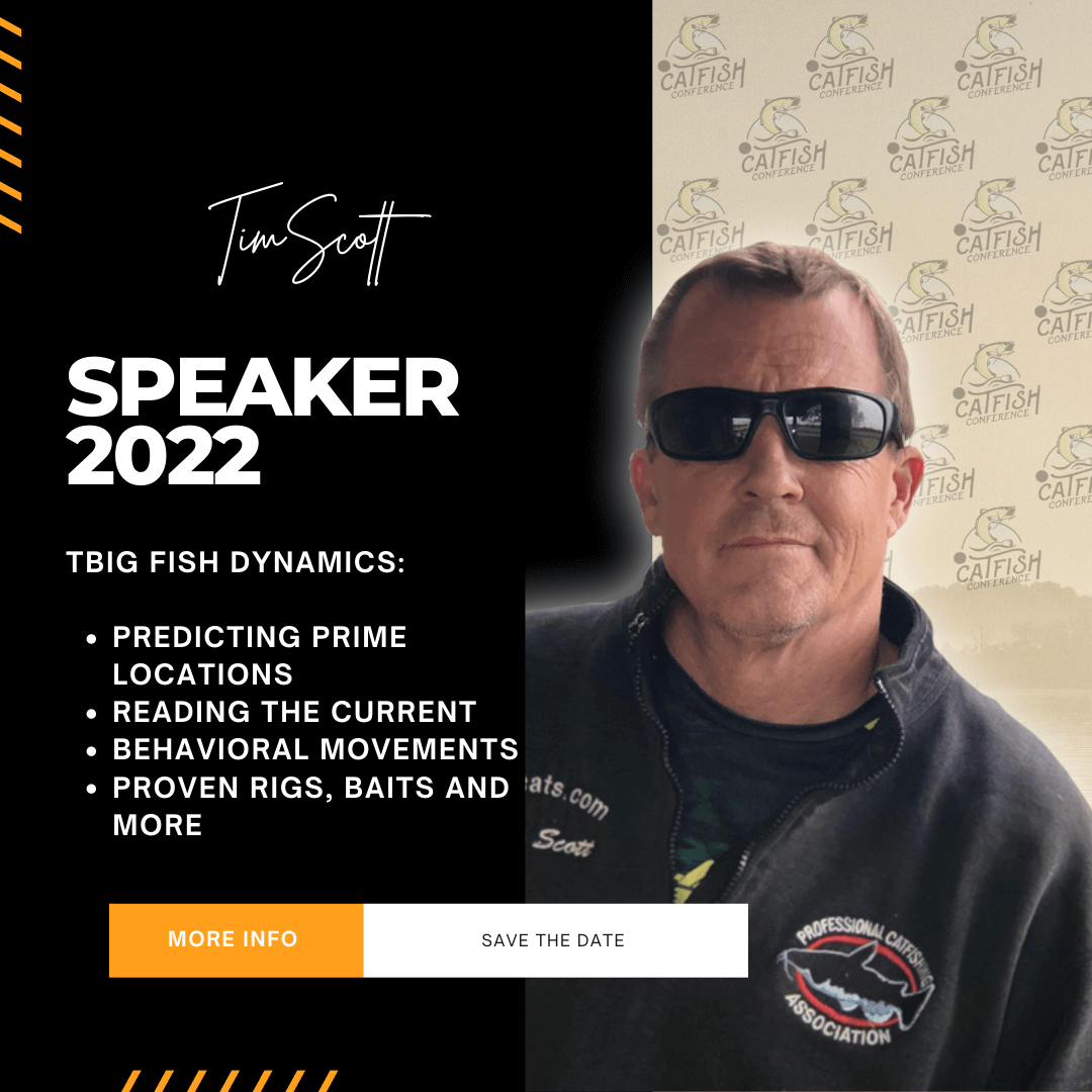 [object object] The Official Catfish Conference® 2022 | in Kansas City (MO) & Louisville (KY) Catcon 2022 Speaker Tim Scott 2