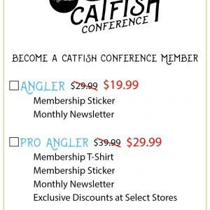 Angler – Catfish Conference Membership Catfish Membership Rack Card Front V 4 300x300