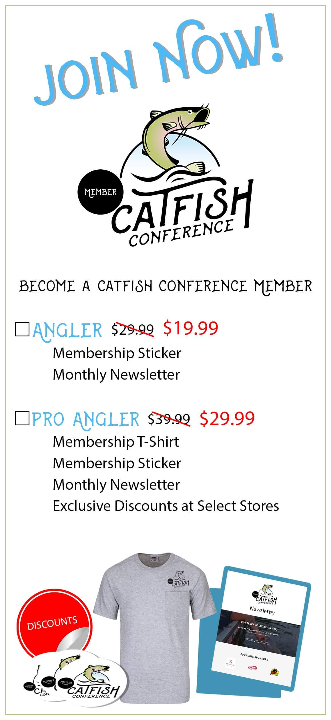 [object object] Catfish Conference Membership Catfish Membership Rack Card Front V 4