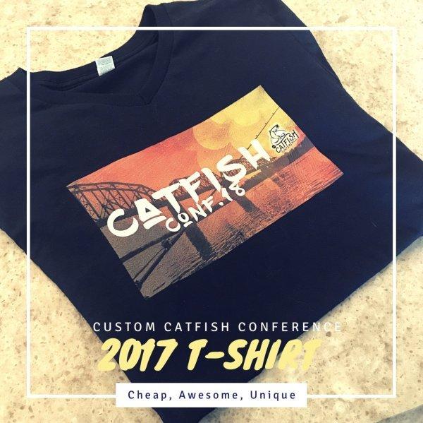 Catfish Conference Custom 2017 T-Shirt View 2