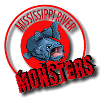 Mississippi River Monsters Tournament  Mississippi River Monsters Tournament Mississippi River Monsters Logo