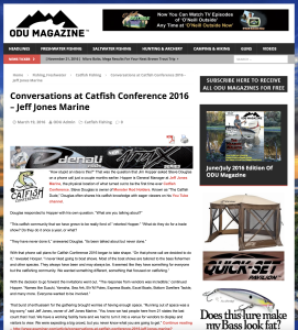 ODU Magazine interviews Jim Hopper and Steve Douglas  ODU Magazine™ : Conversations at Catfish Conference 2016 – Jeff Jones Marine Screen Shot 2016 11 21 at 10