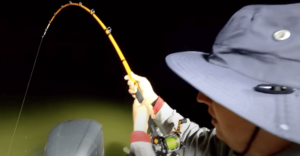 Steve Douglas the Catfish Dude - Hard fight vs a huge brown catfish - new gear taken to the limit steve douglas the catfish dude Steve Douglas the Catfish Dude – Hard to Stop this Huge Brown Catfish Screen Shot 2021 05 27 at 10