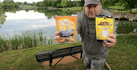 Fishing with Billy - YouTube video: Team Catfish vs Catfish Pro: Catfish Bait Rematch