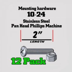 SS Pan-Head Machine Screw and locking hex nut mswn2in 300x300