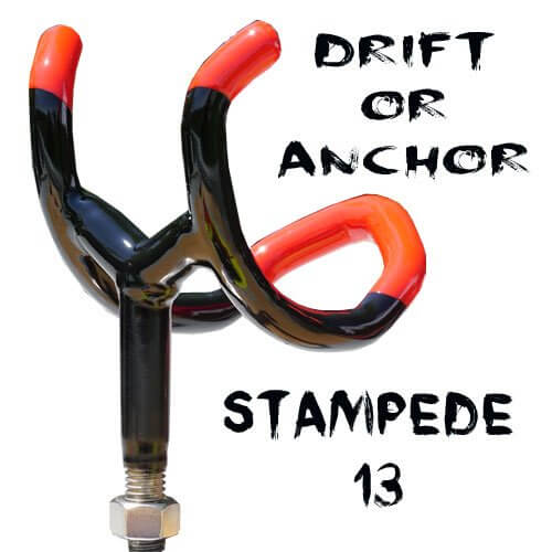 drifting rod holders  Stampede Drifter nmonster13