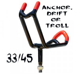 fishing rod holder [object object] Double Action 33/45 Rod Holder WITHOUT Economy Base Included nmonster3345 300x300
