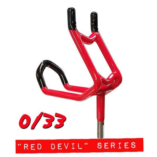 """""""Red Devil"""" Double Action 0/33 Rod Holder """"red devil"""" double action 0/33 rod holder without economy base """"Red Devil"""" Double Action 0/33 Rod Holder WITHOUT Economy Base red devil 0 33"""
