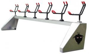 [object object] FISHING ROD RACK: THE ANCHOR PRO DELUXE (6-33/45 web) rod rack deluxe 300x184